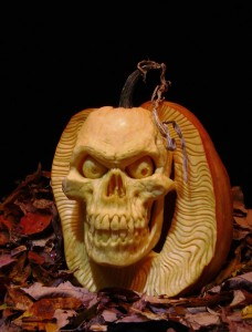 Carved Pumpkin - Who let me out of here?
