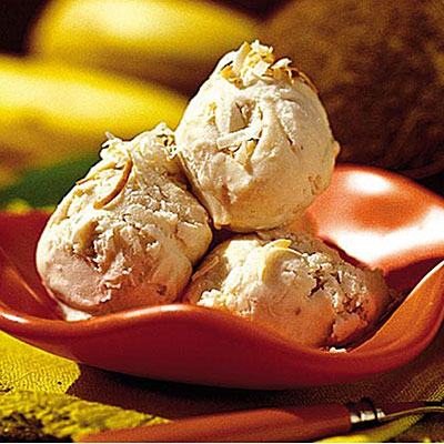 Banana Coconut Ice Cream