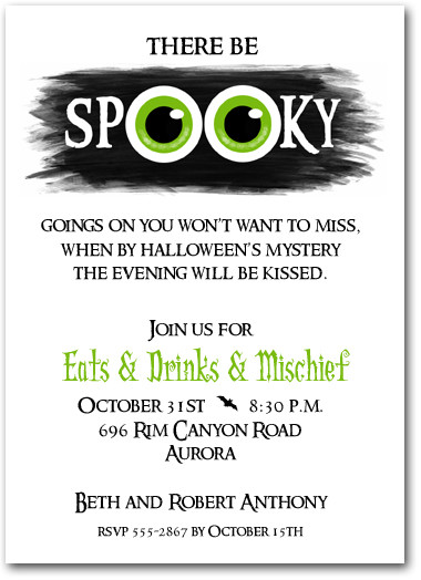 halloween party invite wording  gangcraft, invitation samples