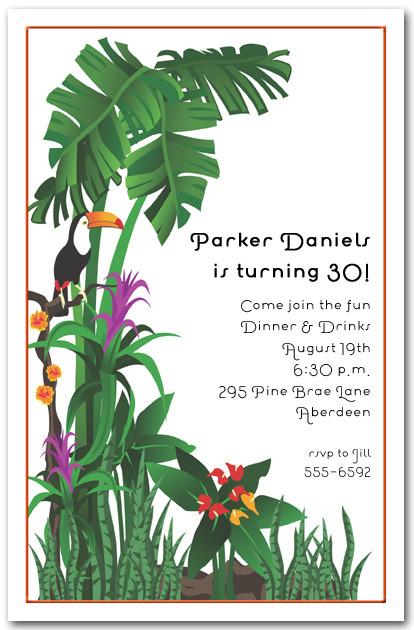 Rainforest Baby Shower Invitations as best invitations design