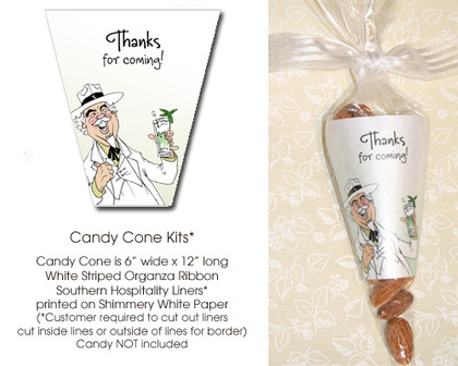 Southern Hospitality Candy Cone Kit