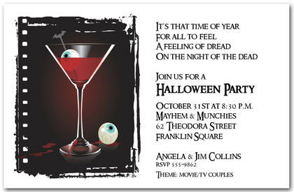 Vampire Eyeball Martini