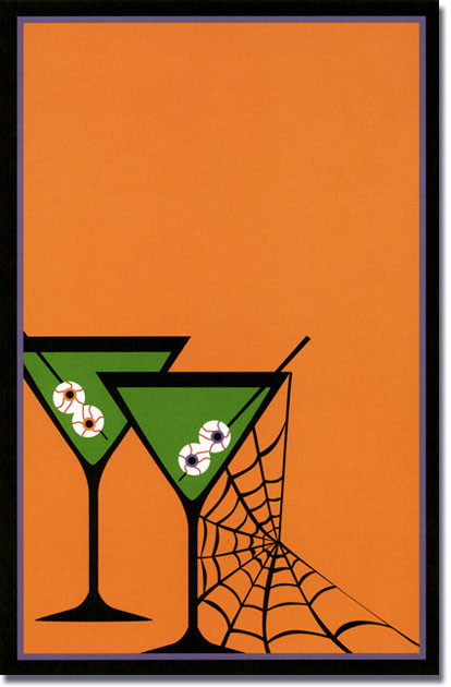Halloween Potion Martini