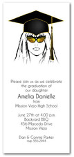 Shades & Black Cap Girl Graduation