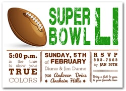 Super Bowl Showdown
