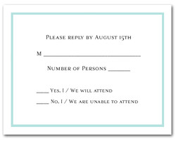 Rsvp cards response cards lots of colors and styles