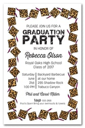 graduation party invitations, high school & college graduation, Party invitations