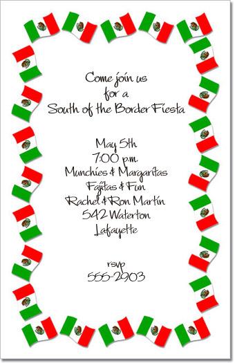 Fiesta Invitation Wording for good invitation template