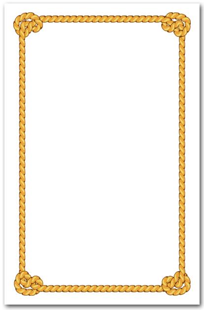 knotted rope border invitation  nautical invitations lasso clipart free lasso clip art image