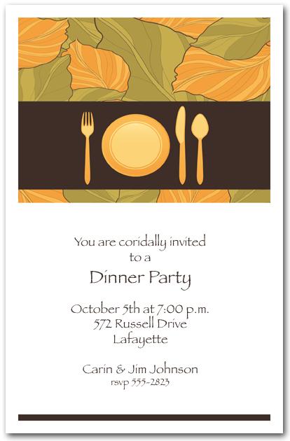 Corporate Dinner Invitation Template | Ctsfashion.Com
