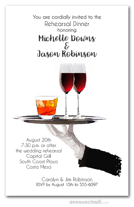 server u0026 39 s tray cocktail party invitations