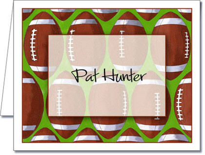 Note Cards: Score Football