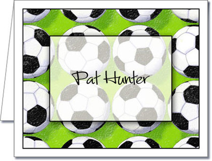 Note Cards: Score Soccer