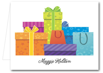 Note Cards: Colorful Gifts