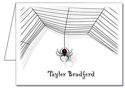 Note Cards: Black Widow