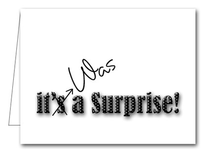 Note Cards: Black Dot Surprise Party