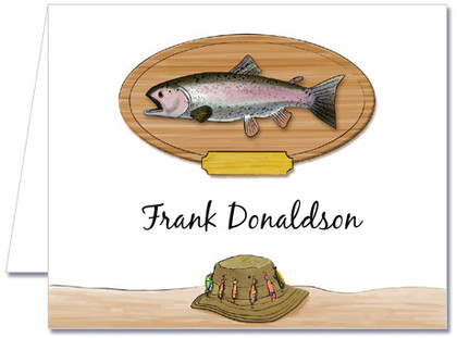Note Cards: Fishing