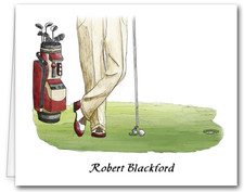 Note Cards: Golf Outing