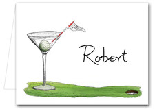 Note Cards: 19th Hole Martini