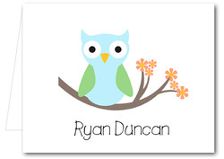Note Cards: Blue Owl