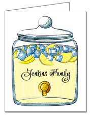 Note Cards: Infusion Jar