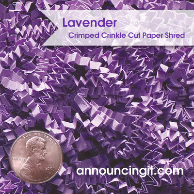 crinkle paper shred Crinkle cut shredded paper offered at wholesale prices buy a variety of colored paper shred available in 10 lb and 40 lb boxes.