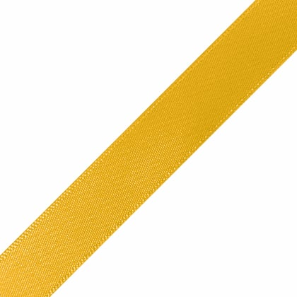 "Pre-Cut Light Gold Ribbon 5/8"" x 10"""