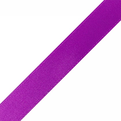 "Pre-Cut Purple Ribbons 5/8"" x 10"""