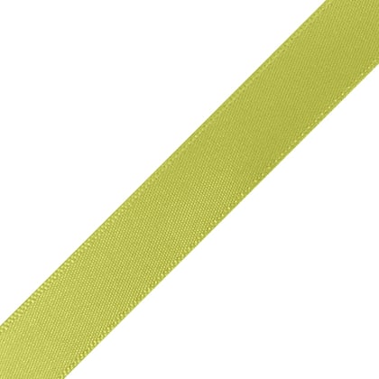 "1/4"" x 18"" Lime Green Ribbon"