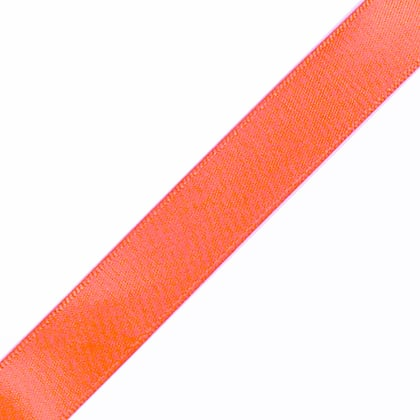 "1/4"" x 18"" Light Coral Ribbon"