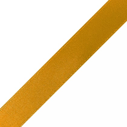 "Pre-Cut Old Gold Ribbon 5/8"" x 12"""