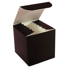 Gloss Black Favor Box 2""