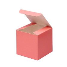Gloss Pink Favor Box 3""