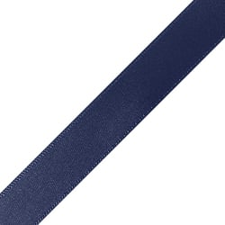 "1/4"" x 18"" Navy Blue Ribbon"