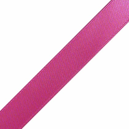 "1/4"" x 12"" Azalea Hot Pink Ribbon"