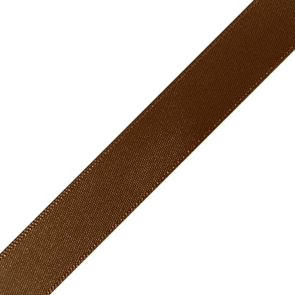 "1/4"" x 12"" Brown Ribbon"