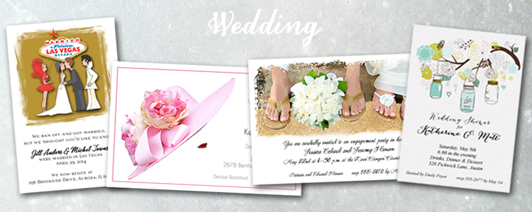 Shop Wedding Event Invitations