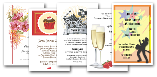 Invitation wording for all occasions