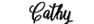 Font Cathy