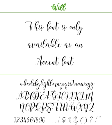 Font Will