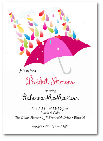bridal shower invitations, Party invitations