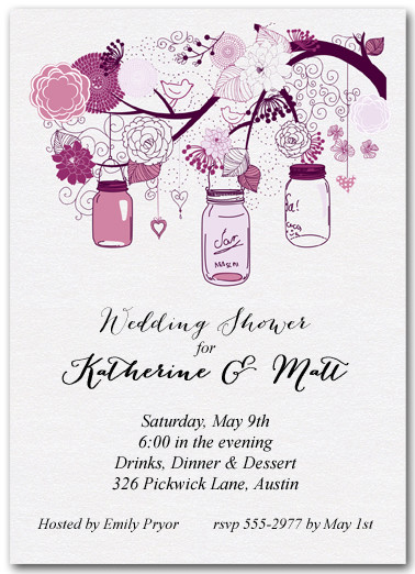 Couples Bridal Shower Invitations Couples Wedding Shower Invitations