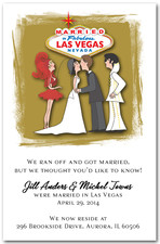 Married in Las Vegas with Elvis