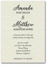 Informal Wedding Invitations Second Wedding Invitations