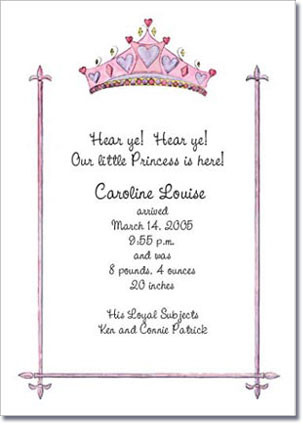 Crowned Pink Birthday