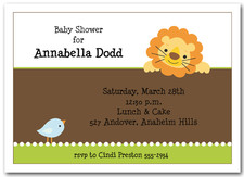 Lion & Bird Baby Shower