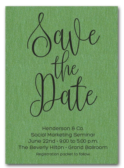 Green Business Save the Date