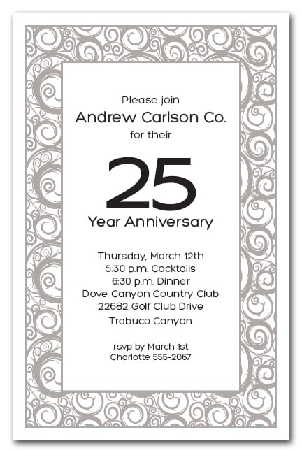 business party invitations