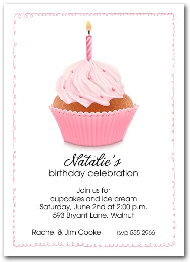 St Birthday Invitations Wording - Birthday invitation message examples