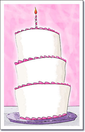 Tall Cake Pink-1st